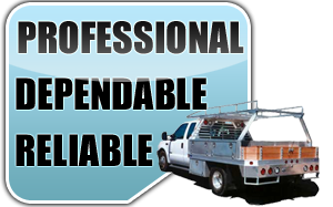 we are a professional, dependable and reliable team